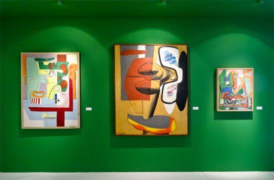 Le Corbusier, Nature morte Vézelay, 1939, Portrait de femme à la cathédrale de Sens, 1939-1943 et Le grand Ubu, 1949