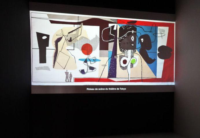 Le Corbusier, Rideau de scène du théâtre de Tokyo