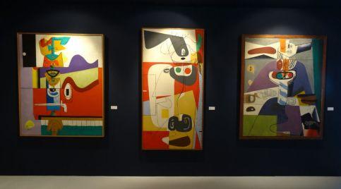 Le Corbusier, Totem 3, 1961, Taureau V, 1954 et Taureau XVI, 1958
