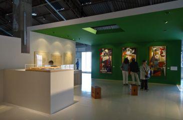 Vue de l'exposition Le Corbusier et la question du brutalisme - Le Plan et la Coupe