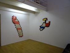"""Max Charvolen, """"Lieux communs"""" : Dédale de ville, Avignon, 2009 et Avignon, rue du Four, 2009"""