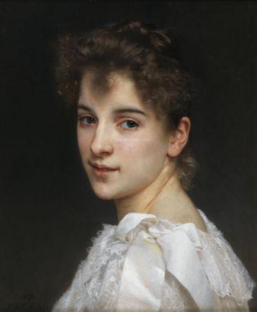William Bouguereau, Portrait de Gabrielle Cot, 1890
