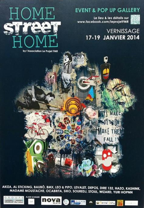 Home Street Home Affiche