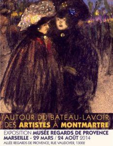 Autour du Bateau-Lavoir  -affiche_1