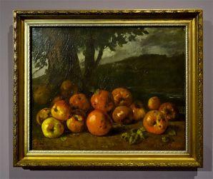 Gustave Corbet, Nature morte aux pommes, 1872