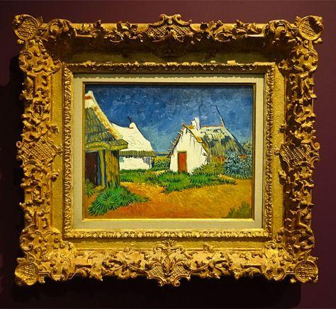 Vincent Van Gogh, Cabanes aux Saintes-Maries-de-la-Mer, 1888. Huile sur toile. 33,5 x 41,5 cm. Kunsthaus, Zurich .