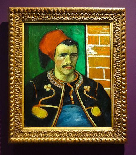 Vincent Van Gogh, Le Zouave, 1888. Huile sur toile. 65,8 x 55,7 cm. Van Gogh Museum, Amsterdam.