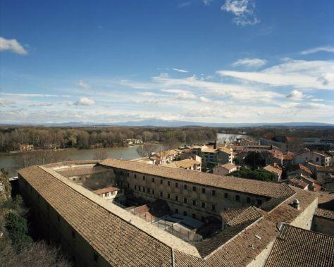 Prison Sainte-Anne. Vues de la cour photographies François Halard
