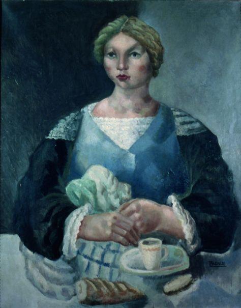 Roger Bissière, Le petit déjeuner, 1923, collection particulière © DR © ADAGP Paris 2014