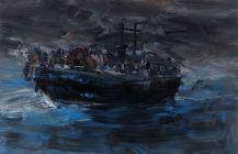 Yan Pei-Ming, Moonlight in Colour, 2014