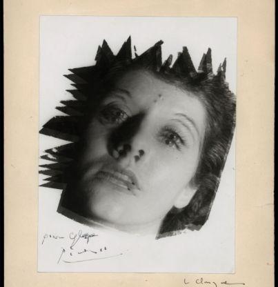 Clergue_Une_amie_1953_tirage-vintage_signe_par_Picasso_1