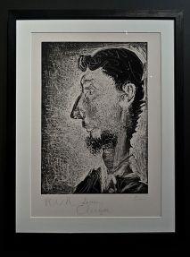 Picasso, Portrait de Pierre Crommelynck, s