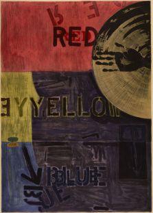 Jasper Johns, Periscope (Ulae 218), 1981