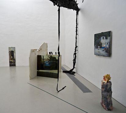 Gaëlle Choisne, Stèle, Port-Au-Prince, Haïti (Bos Poto), 2014 et Stèle, Port-Au-Prince, Haïti (château d'eau), 2014