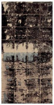 Jacques Clauzel, Janvier 2003,acrylique sur papier kraft, 80 x 40 cm