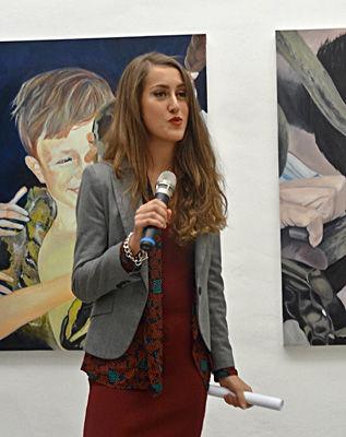 Mélanie Lefebvre, (1er prix). Prix Felix Sabatier 2013 - Musée Fabre, Montpellier