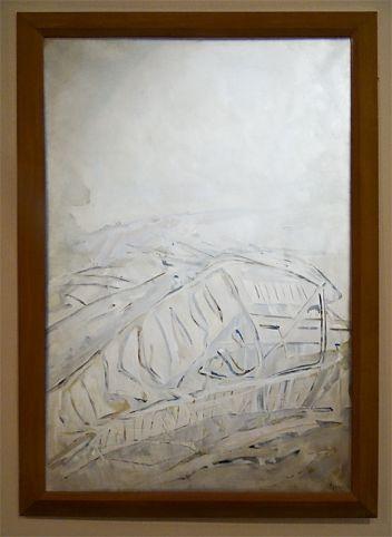 Árpád Szenes, l'Épave, 1971 - Musée Cantini, Marseille