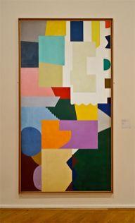 Shirley Jaffe, Sans titre, 1972 - Musée Cantini, Marseille