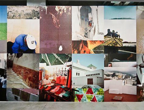 35.57°- 5.35°, 2014. Série de 20 photographies argentiques. Digigraphies sur toile. Production : Trankat, Espace d'Art le Moulin