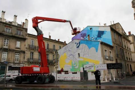 Zest Fresque Rondelet - jour 3, 2015. Photo :  Nicolas Pinelli- At Down