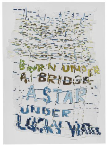 Roni Horn, Hack Wit - Lucky Water, 2014