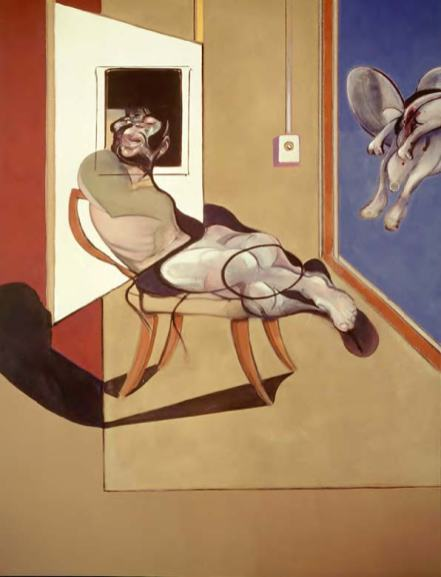 Francis Bacon Seated figure, 1974