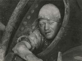 Dans la chaudière, Ateliers de construction mécanique Oerlikon (MFO), vers 1940