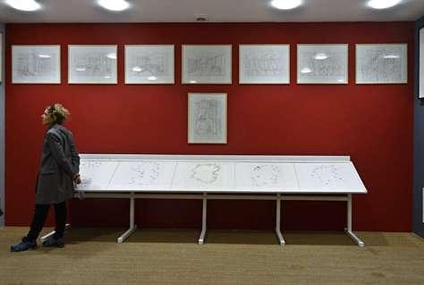 Dessins au Cube - ENSAM - Tjeerd Alkema et Jean-Jacques Rullier, « La construction d'espaces vécus par les artistes »