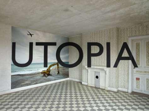 Georges Rousse, Utopia 2015. Tirage lambda sur Papier photo. 125 x 160 cm. ©Georges Rousse 2015