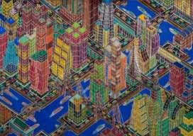 Mamadou Cissé, Sans titre , 2015, Feutre et stylo bille gel sur papier 30 x 42 cm