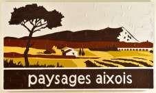 Bertrand Lavier, Paysages aixois 2014 © Bertrand Lavier_Adagp, Paris 2015_Ph