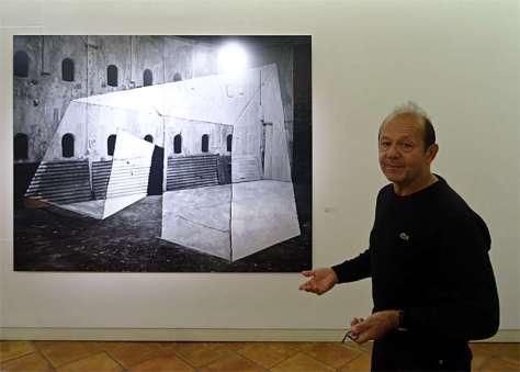 Georges Rousse, Bercy,1984 - « Collectionneur d'espaces » à Campredon
