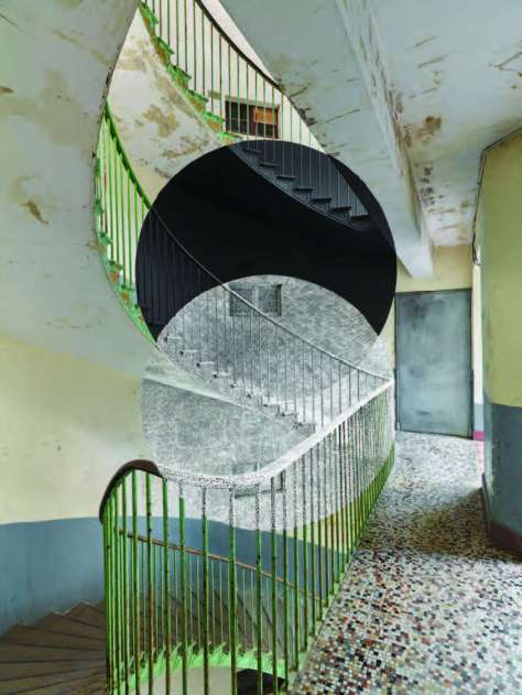 Georges Rousse, Guise 2015-4