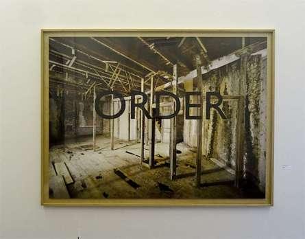 Georges Rousse, Laroque Timbaut, 2006 - « Collectionneur d'espaces » à Campredon