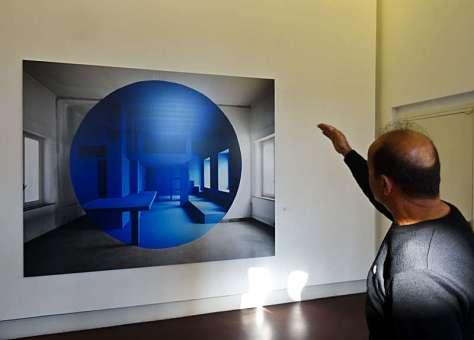 Georges Rousse, Palerme,2000 - « Collectionneur d'espaces » à Campredon