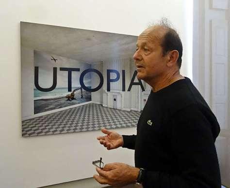Georges Rousse, Utopia,2015 - « Collectionneur d'espaces » à Campredon