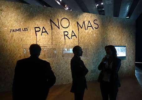 J'aime les panoramas, Vue de l'exposition au MuCEM, 2015