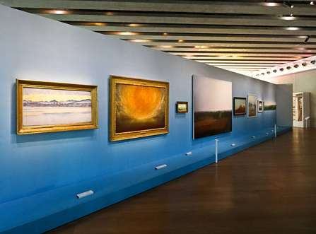J'aime les panoramas (L'homme face au grand paysage), Vue de l'exposition au MuCEM, 2015