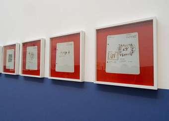 Yto Barrada, Sans titre (Album de dessins indigènes, Mission Therese Riviere), 2014-2015, tirage chromogène, « Faux guide », Carré d'Art - 2015-2016