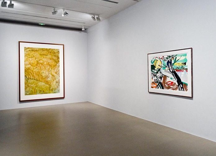 Andreas Gursky, Untitled XI (Van Gogh), 1999 et Roy Lichtenstein, Le Semeur, 1985 - Très traits à la Fondation Vincent Van Gogh Arles