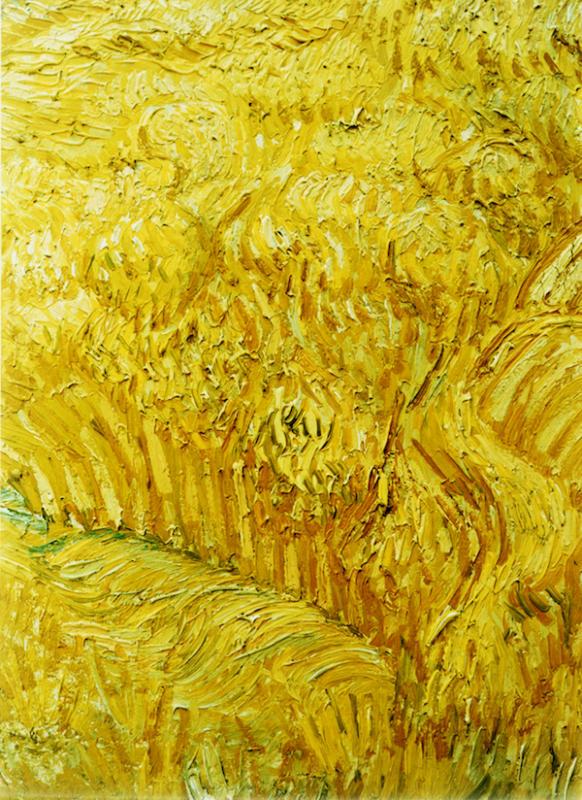 Andreas Gursky, Untitled XI (Van Gogh), 1999 - Exposition Très traits à la Fondation Vincent Van Gogh Arles