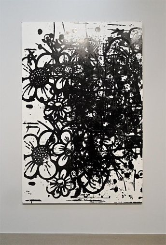 Christopher Wool, Miles Runs The Voodoo Down, 1999 - Très traits à la Fondation Vincent Van Gogh Arles