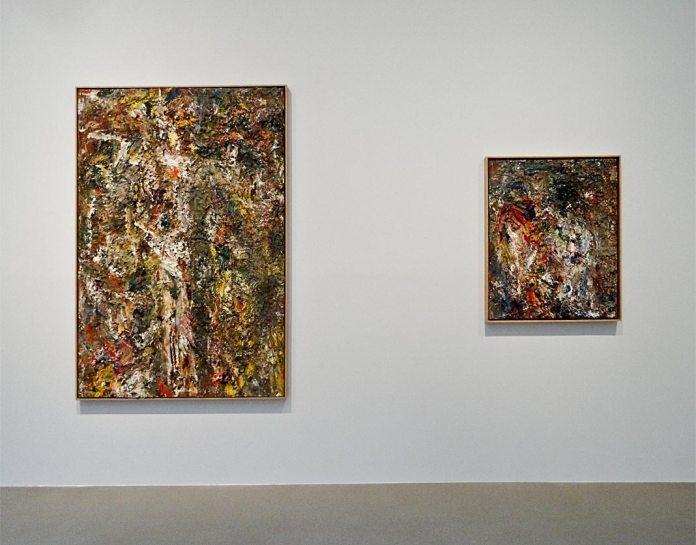 Eugène Leroy,Homme en croix, 1990 et Deux Filles, 1996 - Très traits à la Fondation Vincent Van Gogh Arles