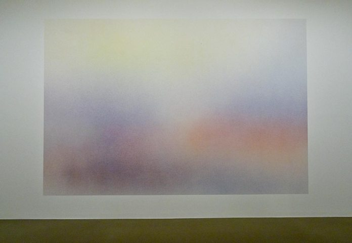 Isabelle Cornaro, Reproductions #9, 2015 - Très traits à la Fondation Van Gogh Arles