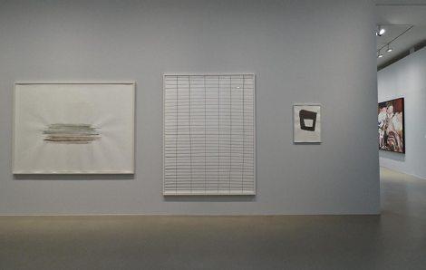 Silvia Bächli, Sans titre, 2012, am, 2008 et Sans titre, 2013 - Très traits à la Fondation Vincent Van Gogh Arles