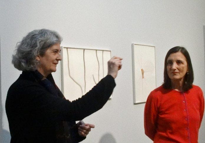 Silvia Bächli et Bice Curiger - Très traits à la Fondation Vincent Van Gogh Arles