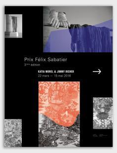 Jimmy Richer et Katia Morel lauréats du 3ème prix Félix Sabatier au Musée Fabre, Montpellier