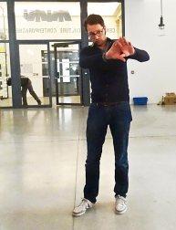 Vincent Cavaroc, directeur artistique du festival Tropisme