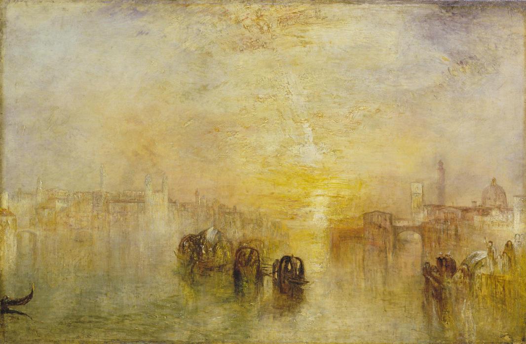 TURNER William (1775 - 1851) Départ pour le bal (San Martino) - Exposé en 1846 - Huile sur toile - 616 x 924 mm - Tate. Accepté par la nation dans le cadre du legs Turner, 1856 © Tate, London 2015