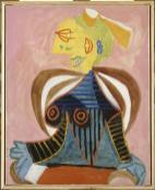 Pablo Picasso, Portrait de Lee Miller en arlésienne, Mougins, 20 Septembre 1937 Huile sur toile, 81 x 65 cm / MP 1990-18 Musée Réatu, Arles, dépôt du musée Picasso-Paris / Photo © RMN-Grand Palais / Gérard Blot © Succession Picasso 2016